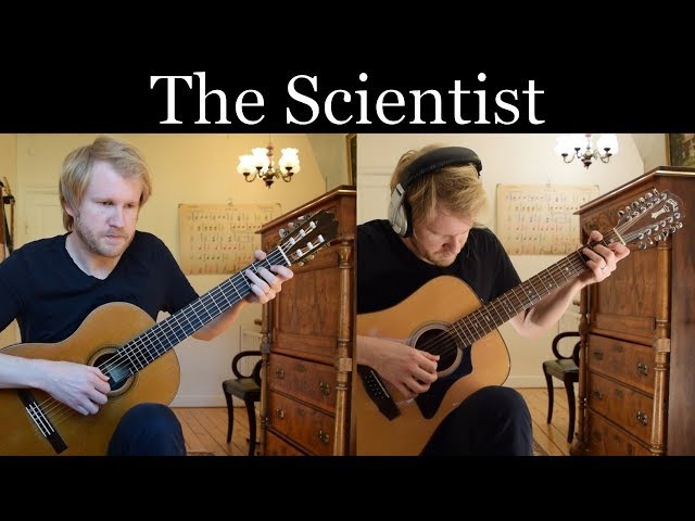 Coldplay - The Scientist (Acoustic Classical and 12-string Guitar Cover by Jonas Lefvert)