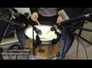 Tama S L P G Maple Snare 13x7 test microphone shure akg rode sennheiser oktava