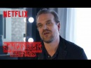 Stranger Things Rewatch   Behind the Scenes: David Harbour on Working With Kids   Netflix