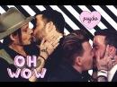 Jimmy Kimmel x Johnny Depp KISS