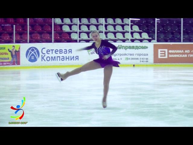 Арина Зарипова (Заинск) КМС-ПП