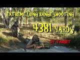 4km Extreme Long Range rifle shot (4384 yards) 375 Cheytac Improved