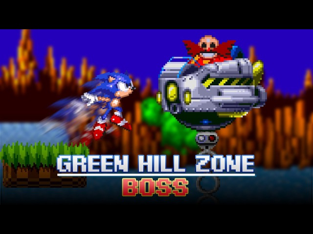 Green Hill Zone Boss Animation