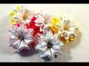 🎄Зимние цветочки-снежинки/Новый лепесток🎀/Snowflake/Зефирки из ленты 2.5см/Tutorial/D.I.Y