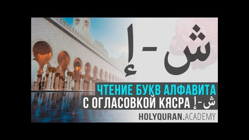 Чтение букв алфавита с огласовкой кясра: от إِ до ش   Академия Корана™