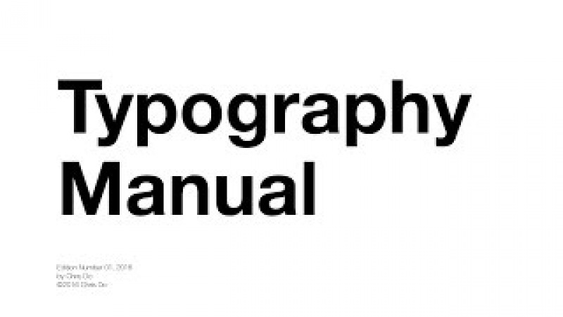 Typography Tutorial - 10 rules to help you rule type