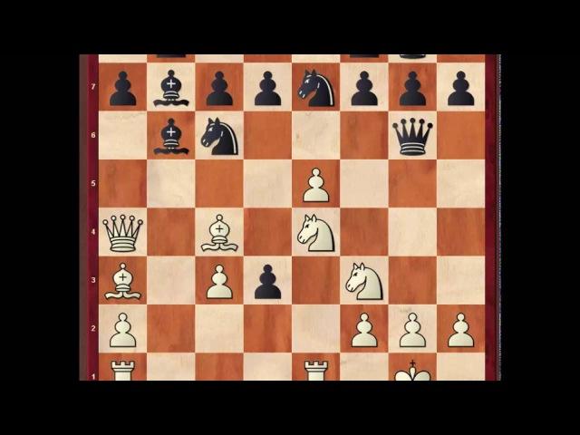 Шахматная классика. Вечнозеленая (неувядаемая) партия Андерсен - Дюфрень