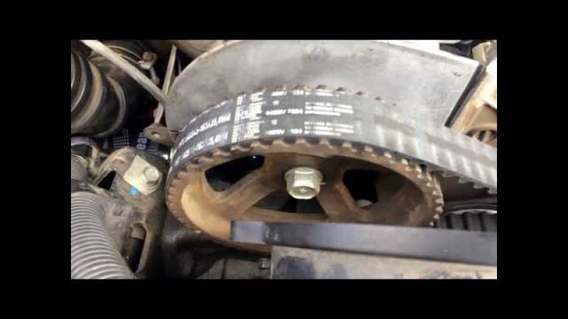 Pajero Sport 4D56 замена прокладки крышки головки блока цилиндров двигателя, паджеро сп...