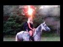 Al Demoni Cow Boy back Stage by Sarah Conti