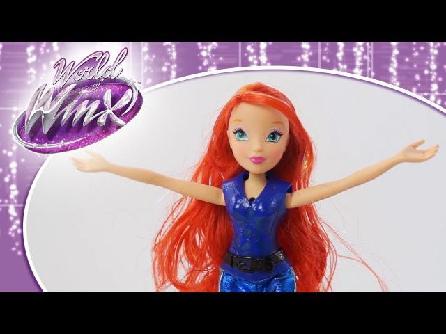 Winx Club - Волшебное сияние Шпионки Блум!