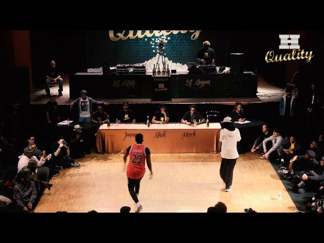 H Quality 6 | 1/4 Finale Hip Hop | CHOPPER vs REGI HYBRIDE