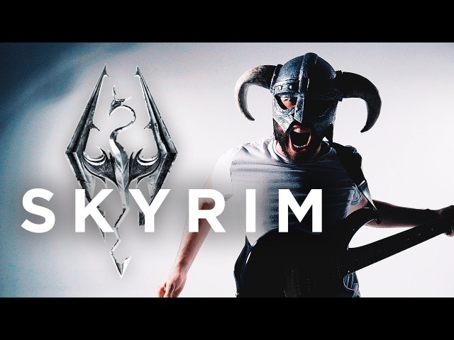 SKYRIM THEME - Dragonborn (METAL/ROCK COVER by Jonathan Young)