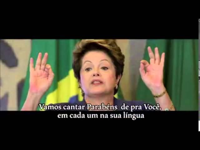 Gafes da presidenta Dilma Roussef