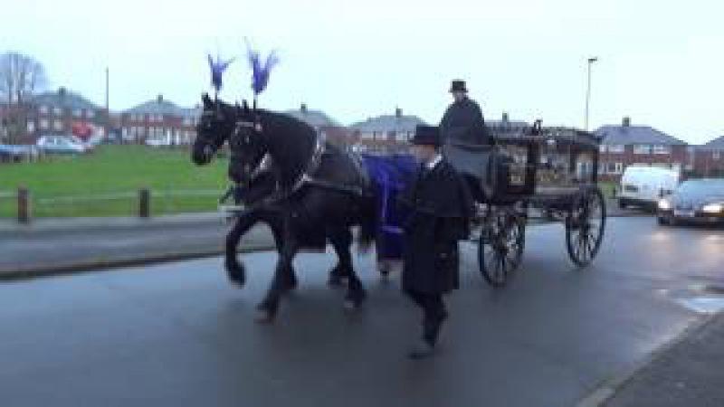 Похоронная процессия по - Английски / Funeral