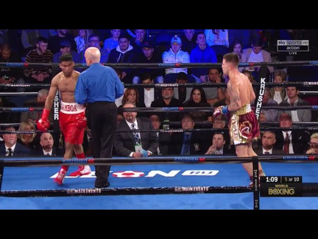Jason Sosa vs Yuriorkis Gamboa (25-11-2017) Full Fight - Video Dailymotion