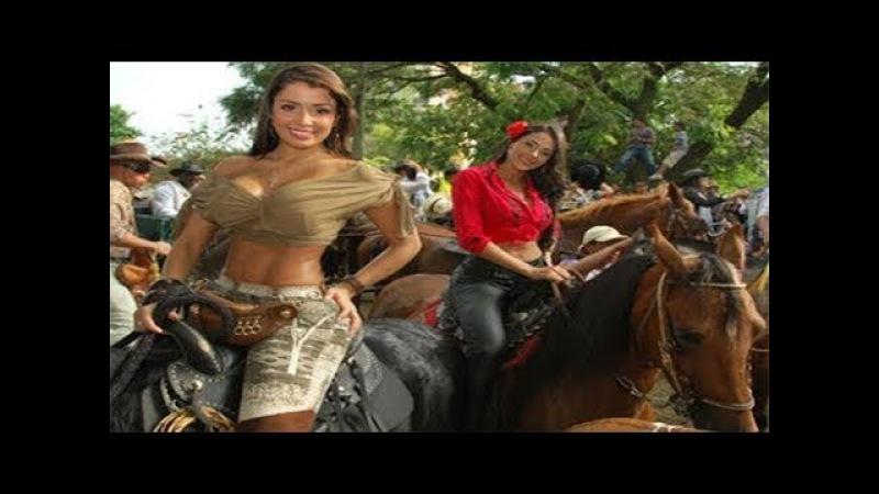 Las Mujeres Mas LINDAS de la CABALGATA montando CABALLOS BAILADORES|Feria de Cali
