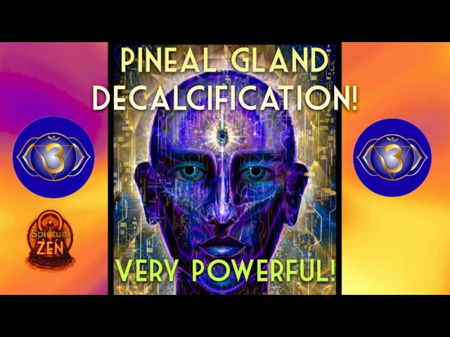 PINEAL GLAND DECALCIFIER! 2018 FLUORIDE DETOX! (CAUTION) ONLY LISTEN WHEN READY 3RD EYE MEDITATION