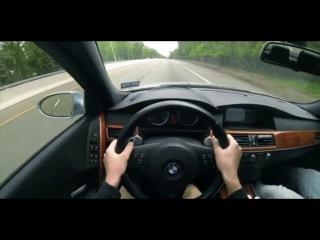 BMW M5 E60 Pov Acceleration Sounds And Downshifts