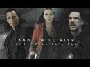 Loki doctor strange wanda and I will rise