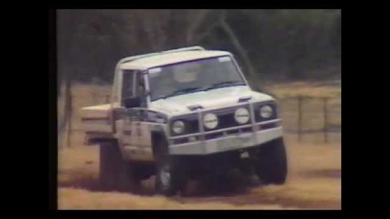 6WD NISSAN PATROL- VINTAGE FOOTAGE FROM CONDO 750 6X6 CAB CHASSIS