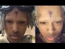 Xxxtentacion Shaves His Eyebrows Turns Into An X Men After Going Through Mental Breakdown