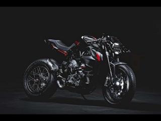 """MV Agusta Dragster 800 """"Blackout"""" Debuts in Verona."""