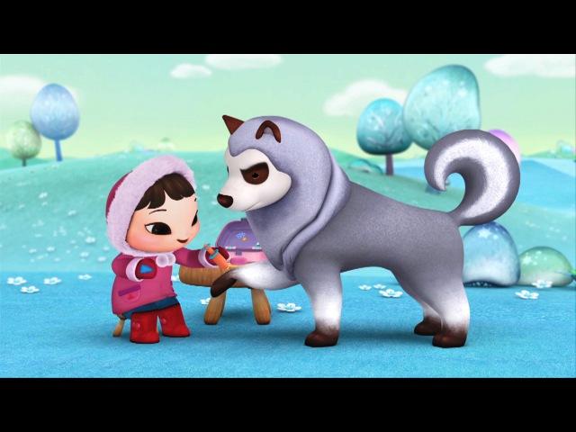 ❄ КИОКА ❄ Самый милый обучающий мультик для малышей! Все серии - Сборник 2
