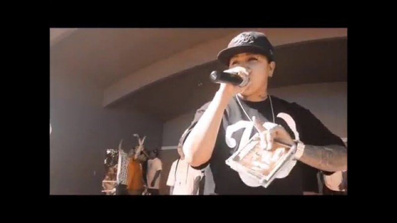Tweety performing at Watsonville Ridaz carshow 2016