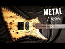 Wild Majestic Metal | Guitar Backing Track Jam in E Minor