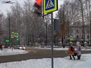 Последствия снежной бури устранены в Йошкар-Оле