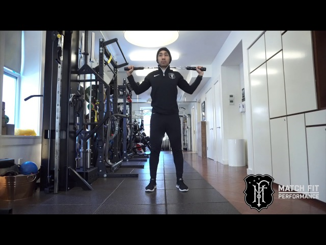 T Strap Overhead Press and Isometric Hold