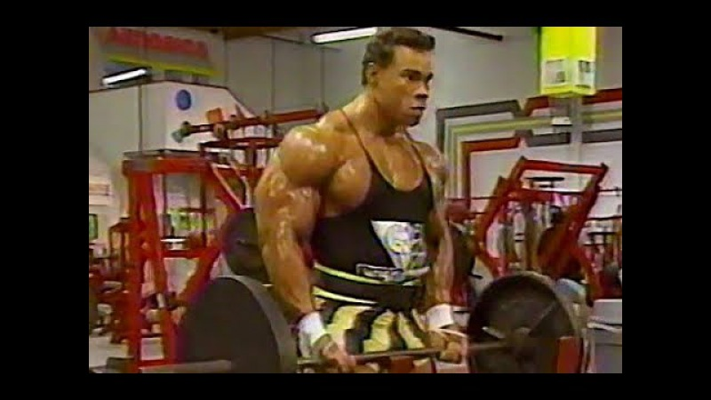 Kevin Levrone Rare Arm Workout 1991 HQ for age 265 pds