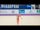 Арина Аверина обруч (квалификация) - Гран-При Москва 2017