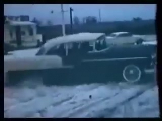 Hot rod burnout and drifting in the 50's & 60's (1958-1963)