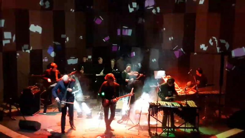 Mooncake - Rain in the Ashtray ( live at ЦДХ 02.02.17. ).