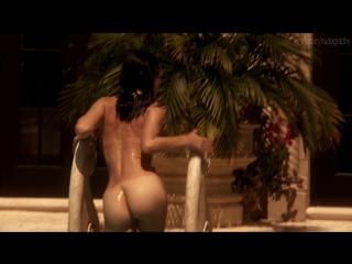 Голая Джессика Маре (Jessica Marais) в сериале Город мечты (Magic City, 2012) - Сезон 1 / Серия 1 (s01e01) 1080p