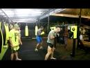 Школа бокса Good Old Boxing - Отработка комбинаций и акцентированных ударов(09.02.17)