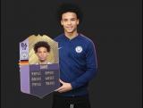 Лучший игрок октября в АПЛ - Лерой Сане - FIFA 18
