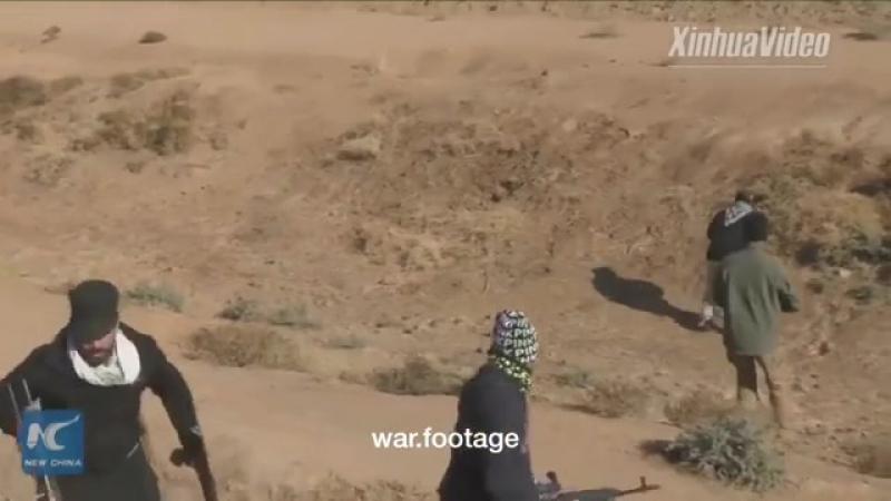 Иракцы нашли тоннель ИГИЛ и шумно косплеят фильм Дрожь земли