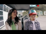 Gaten Matarazzo drives Vanessa Hudgens to WE Day - WE Day Shuttle