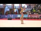 Арина Аверина, булавы (финалы) //Гран-При Марбелье 2017.