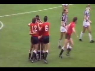 Голы Манчестер Юнайтед на сногсшибательном старте сезона 1985-86