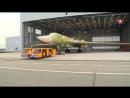 Кадры выкатки новейшего бомбардировщика Ту 160М2