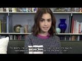 Лили отвечает на вопросы поклонников о своей книге Без фильтра Ни стыда, ни сожалений, только я Rus Sub