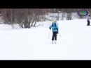 Алибек, горнолыжная школа клуба Стремление - YouTube