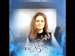 Fantastic Beasts NYC premiere: Bonnie Wright