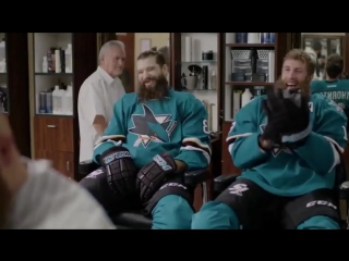 The outtakes from Burns and Thorntons barber shop commercial are hilarious.