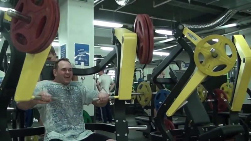 МОИ тренировки с железом