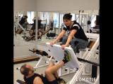 Тренировка ног в паре