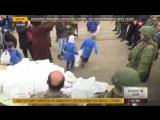 Сирия 11.01.18: Российские военные доставили гумпомощь к границе в зоне деэскалации в Восточной Гуте.